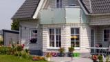 Balkon mit Glas für Einfamilienhaus